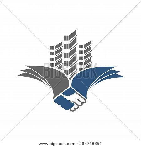 Building Logo Design. Real Estate Company Logo Design, Abstract Construction Logo Design. Building L