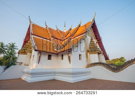 Wat Phumin, The Most Famous Temple Of Nan Province, Thailand(public Place)