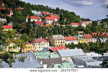 Rooftops Of Banska Stiavnica Old Town