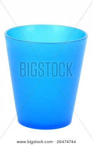Colorful plastic of cup
