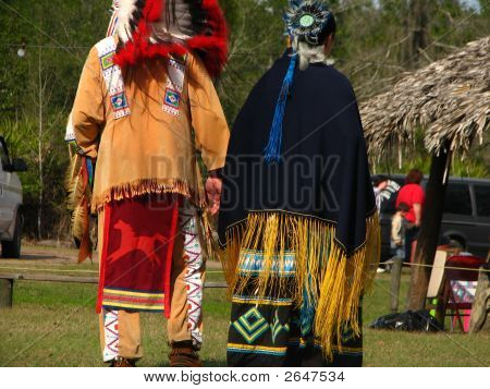 Native Americans At Pow Wow