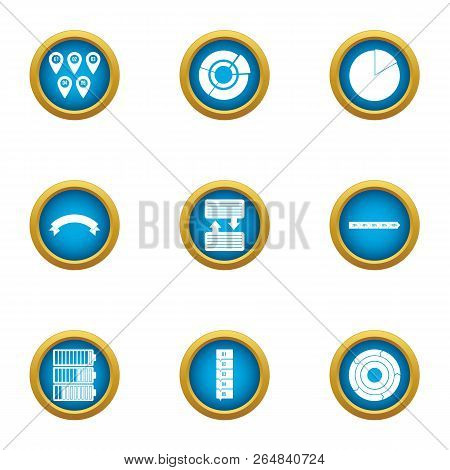 Interchange Icons Set. Flat Set Of 9 Interchange Vector Icons For Web Isolated On White Background