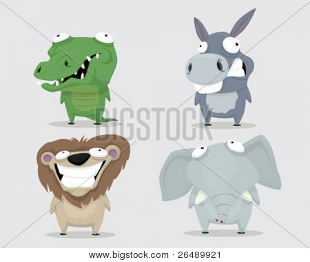 Group of animals.
