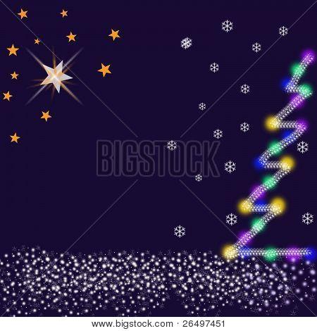 Christmas Night & Christmas Star.