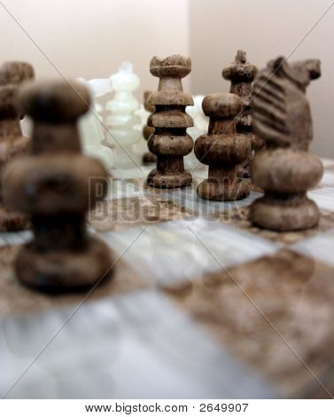 Marble Chess Peices