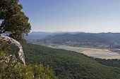 Urdaibai biosphere natural reserve in Vizcaya province, Spain poster