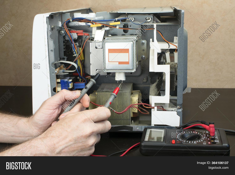 Repair Microwave Oven Image Photo