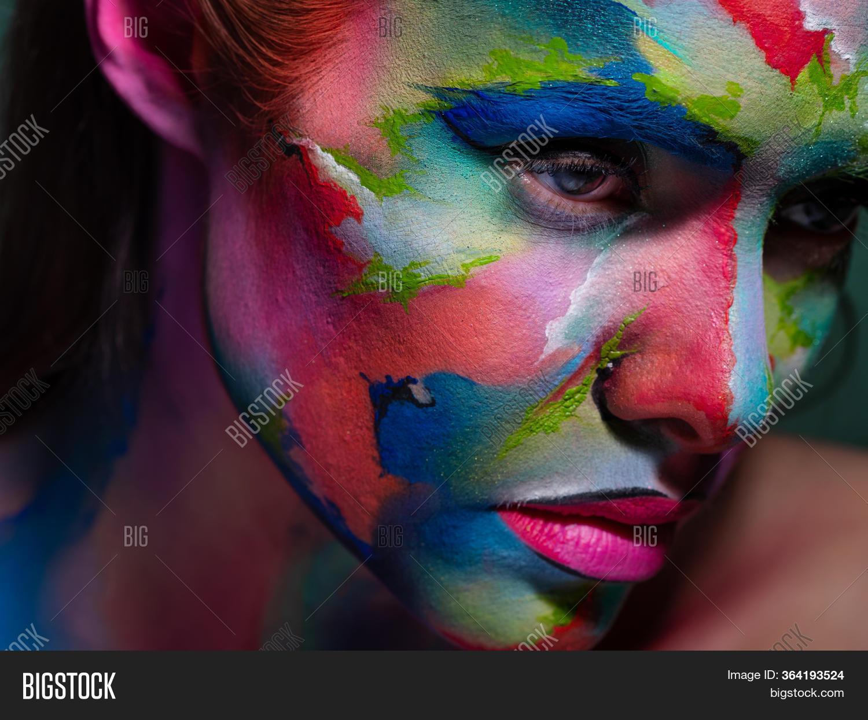 Face Art Body Art Image Photo Free Trial Bigstock