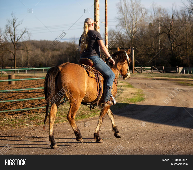 Female Western Horse Image Photo Free Trial Bigstock
