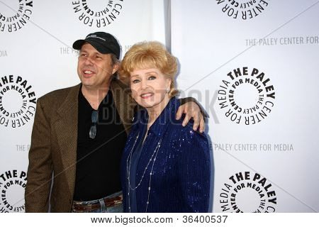 LOS ANGELES - JUN 7:  Todd Fisher, Debbie Reynolds at the Debbie Reynolds Hollywood Memorabilia Collection Auction & Auction Preview at Paley Center For Media on June 7, 2011 in Beverly Hills, CA