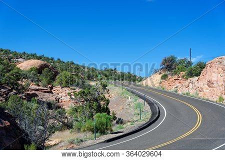 Utah Scenic Route 12 Near Calf Creek