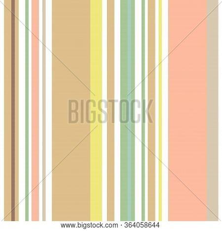 Vertical Stripes Seamless Pattern. Male, Female, Childrens Modern Fashion Textile. Summer, Spring Se