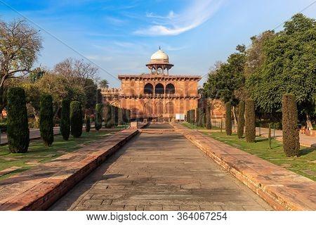Taj Museum In Taj Mahal Complex, India, Agra