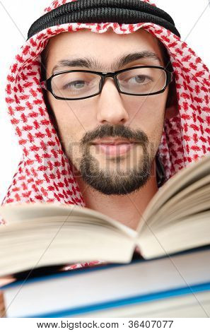 Education concept with young arab