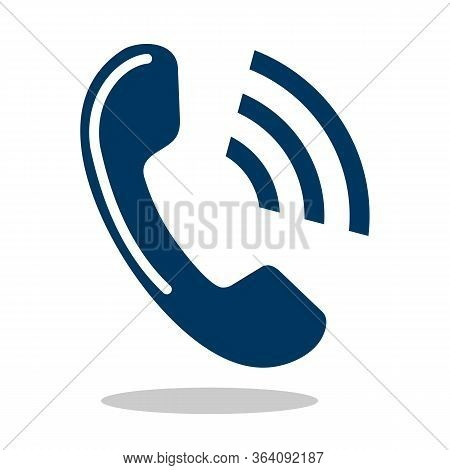Phone Icon Isolated On White Background. Phone Icon In Trendy Design Style.