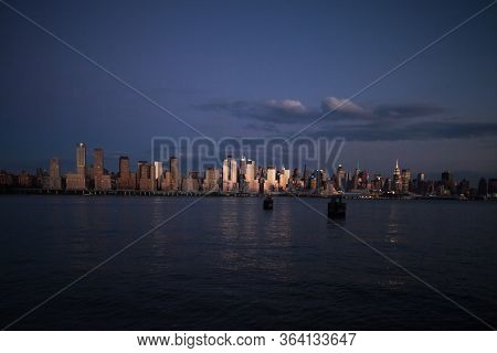 NYC, Manhattan View from New Jersey
