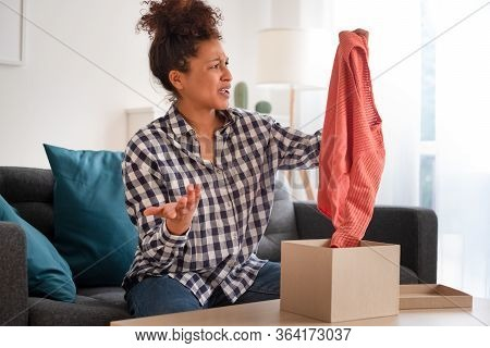 Disappointed Customer Unboxing Wrong Item Purchased With Home Shopping