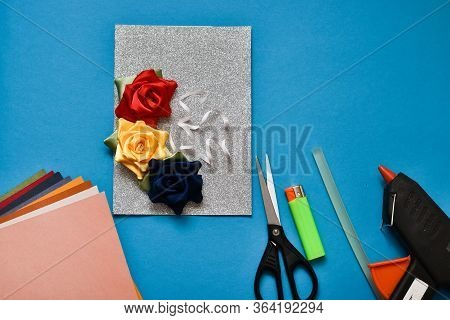 Step 7. Do It Yourself. Step-by-step Instructions For Making Cards For The Holiday Of May 9. Ready F
