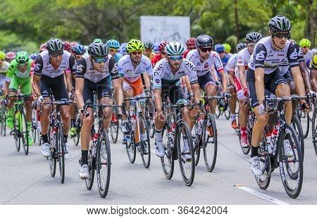 Riders Compete During Le Tour De Langkawi (ltdl)