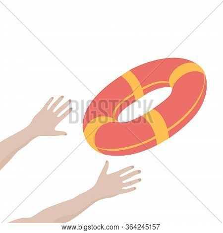 Getting Lifebuoy For Help, Support, And Survival.