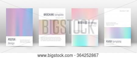 Flyer Layout. Minimalistic Lovely Template For Brochure, Annual Report, Magazine, Poster, Corporate