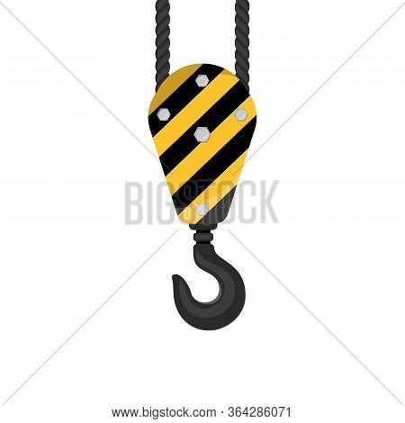 Industrial Crane Hook Icon