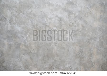 Gray Or Green Rough Abstract Loft Style Stucco Texture For Background.surface Of Plaster Cement Conc