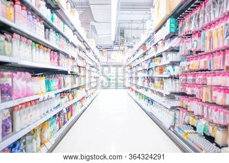 Background Of Supermarket Or Convenience Stores , Storehouse Industrial And Logistic Company.warehou