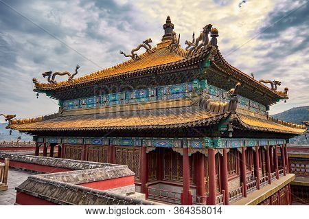 Temple Of Xumi Fushou, Eight Outer Temples In Chengde, Hebei Province, China