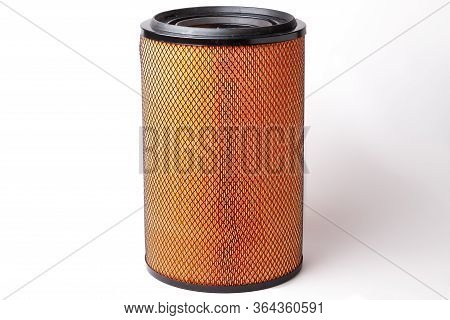 Air Filter Of A Truck To Clean The Air Stream From Impurities Before Feeding It Into The Cylinders O