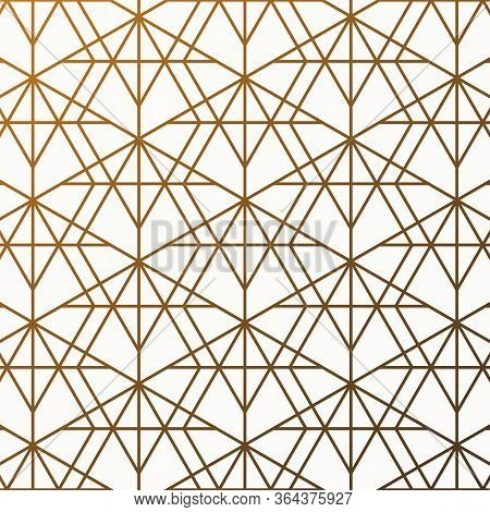 Geometric Linear Vector Pattern With Vertical And Horizon Linear Diamond Shape. Graphic Clean Design