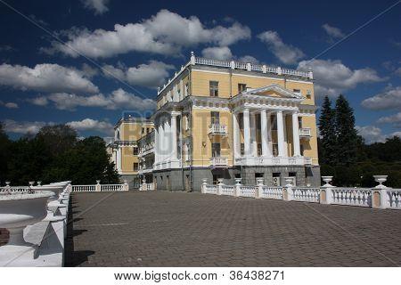 Moscow region. Museum-estate Arkhangelskoe. The sanatorium.