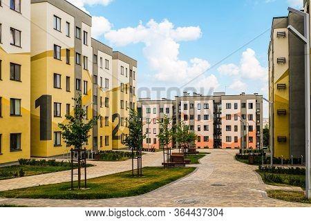 Belgorod, Russia - July 29, 2019: Southwestern Residential Area Of Belgorod, Russia. Novaya Zhizn (n