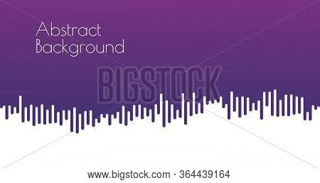 Abstract Mustard Rounded Lines Halftone Transition. Stock Vector Background Illustration