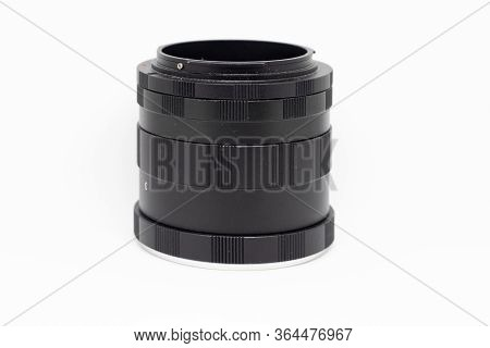 Extension Tube For Macro Photography. Cheap Simple Tube With No Electronic Connections, Manual Focus