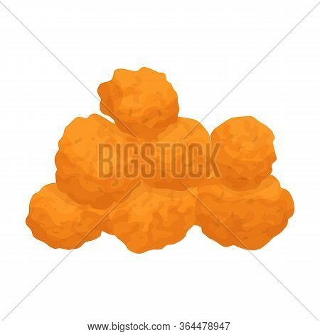 Chicken Fillet Vector Icon.cartoon Vector Icon Isolated On White Background Chicken Fillet.