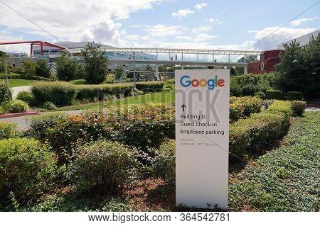 Entry To Google Campus In Kirkland. Washington State. Usa.