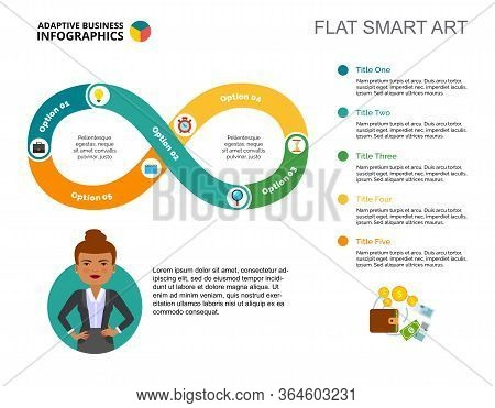 Cycle Chart. Process Diagram, Graph, Layout. Creative Concept For Infographics, Presentation, Projec