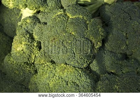 Broccoli Contains Chlorophyll, Helping To Nourish Eyes And Skin. Market