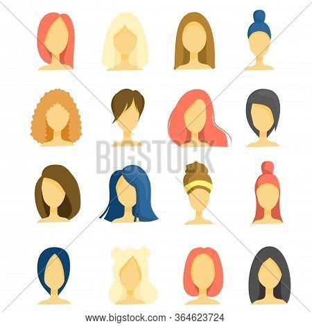 Beautiful Faces Of Young Girls, Different Hairstyles, Haircuts, Long, Short Hair, Brunettes, Brown-h
