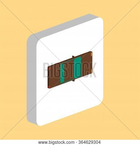 Car Top View, Vehicle Simple Vector Icon. Illustration Symbol Design Template For Web Mobile Ui Elem