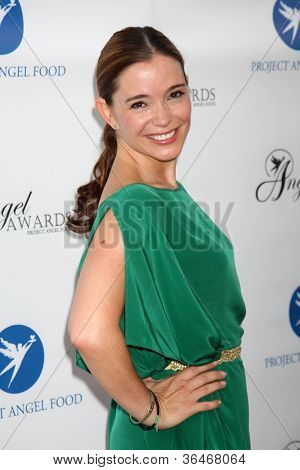 LOS ANGELES - AUG 18:  Marguerite Moreau arrives at the 17th Annual Angel Awards at Project Angel Food on August 18, 2012 in Los Angeles, CA