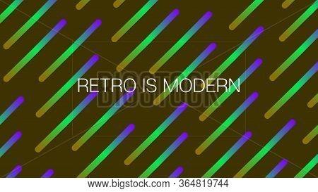 Funky Neon Blend Vector Background. Iridescent Noble Vector Color Overlay. Liquid Neon Bright Trendy