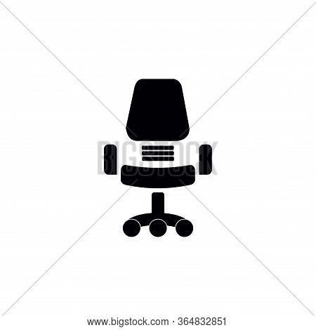 Office Chair Icon Vector Icon On White Background. Office Chair Icon Modern Icon For Graphic And Web