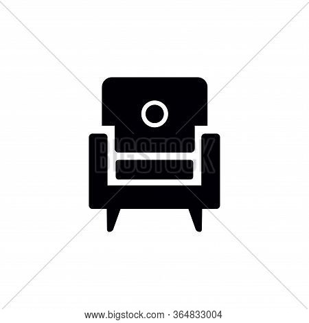 Armchair Icon Vector Icon On White Background. Armchair Icon Modern Icon For Graphic And Web Design.