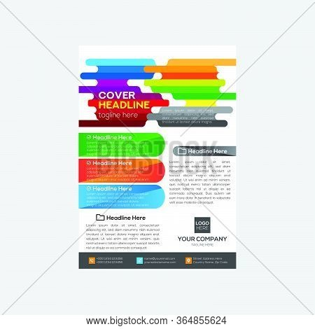 Corporate Business Flyer Design Modern And Simple