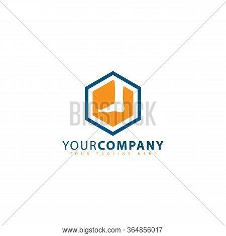 Hexagon Feet Massage Logo Design