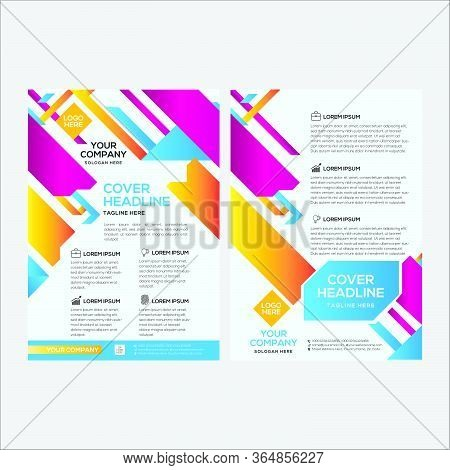 Modern Colorful Business Flyer Design With Double Side