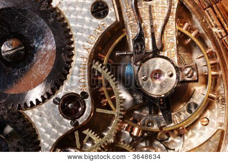 Antique Watch Interior