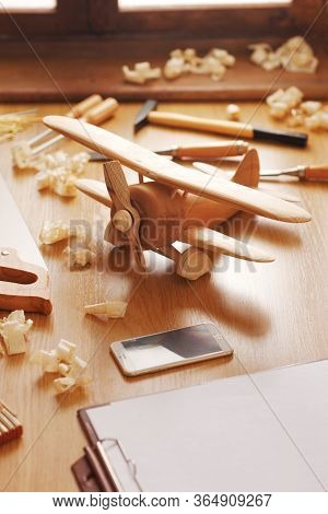 Wooden Toy Airplane Diy Project